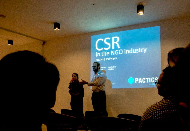 Pactics on Corporate Social Responsibility at Collaboration Cambodia