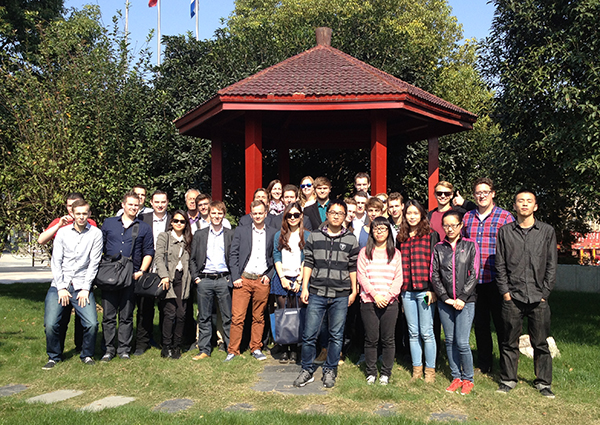 Dutch Students Visit Shanghai Factory